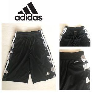 Boys ADIDAS Basket Ball Shorts - CAMO Stripe